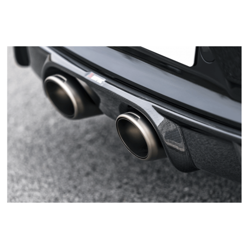 Diffuseur carbone Akrapovic finition brillant Porsche 991.2 Carrera S/4S