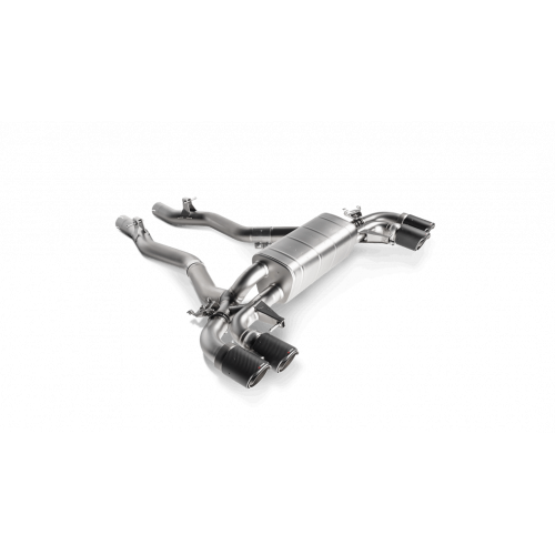 Slip On titane Akrapovic BMW M5 F90 OPF/GPF