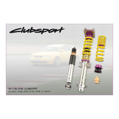 Kit combinés filetés KW Clubsport 2 voies BMW M3 E46