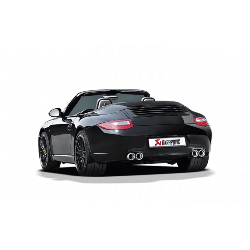 Slip On Race Line titane Akrapovic Porsche 997 Carrera DFI